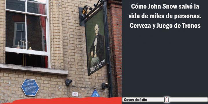 Cómo John Snow salvó la vida de miles de personas. Cerveza y juego de tronos