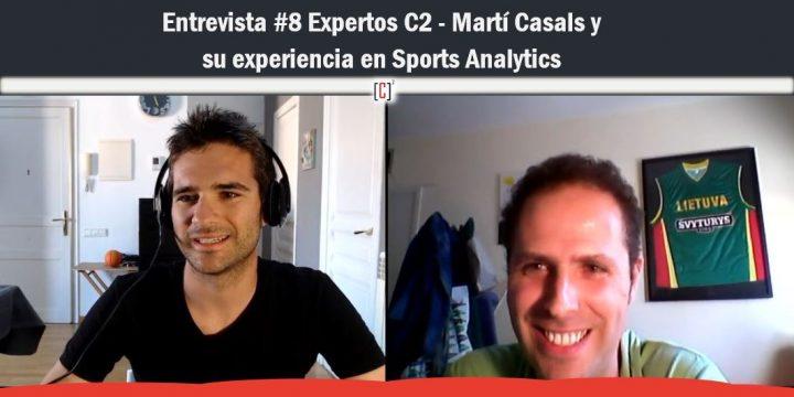 Entrevista #8 Expertos C2 – Martí Casals y su experiencia en Sports Analytics
